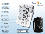 Rossmax Medical Blood Pressure Monitor MW 701f.