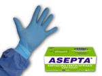 ASEPTA Nitrile Examination Gloves Powderfree